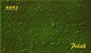 Polak 5952 STRUKTURSTAT ŁĄKA Średnia zieleń 35x20cm