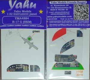 Yahu YMA4884 for B-17G HK Models 1/48