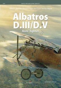 Kagero 5010 Albatros D.III/D.V Aces' fighter EN/PL