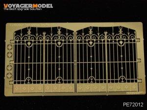 Voyager Model PE72012 European Iron Gates (Pattern 1) for all 1/72
