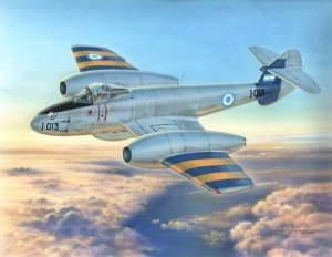MPM Production 72554 Gloster Meteor Mk.4 Argentinian Air Force (1:72)