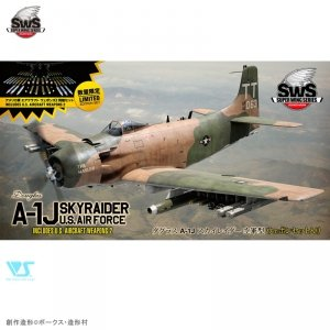 Zoukei-Mura SWS3216 A-1J U.S.AIR FORCE INCLUDES U.S. AIRCRAFT WEAPONS 1/32