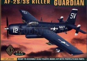 ACE 72305 Grumman AF-2S/3S Guardian (killer) (1:72)