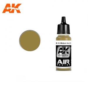 AK Interactive AK 2266 KI MIDORI IRO (YELLOW-GREEN) 17ml