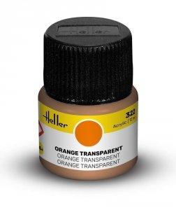 Heller 9322 322 Orange Transparent 12ml