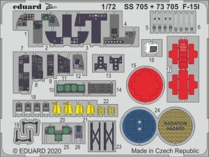 Eduard 73705 F-15I for Great Wall Hobby 1/72