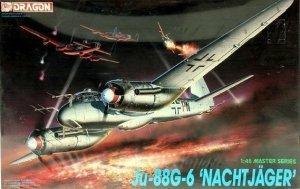 Dragon 5509 Junkers Ju 88 G-6 Nachtjäger 1/48