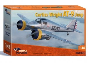 Dora Wings 48043 Curtiss-Wright AT-9 Jeep 1/48