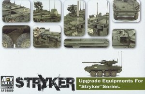 AFV Club 35S59 Stryker Upgrade Equipment for Stryker Series Vehicles 1:35