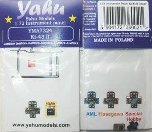Yahu Models YMA7324 Ki-43 II 1/72