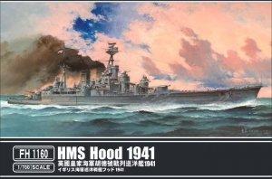 FlyHawk Model FH1160 HMS Hood 1941 1/700