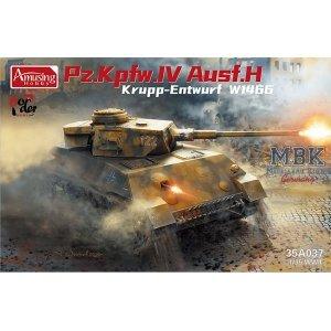 Amusing Hobby 35A037 Panzer IV Ausf.H Krupp Entwurf W1466 1/35