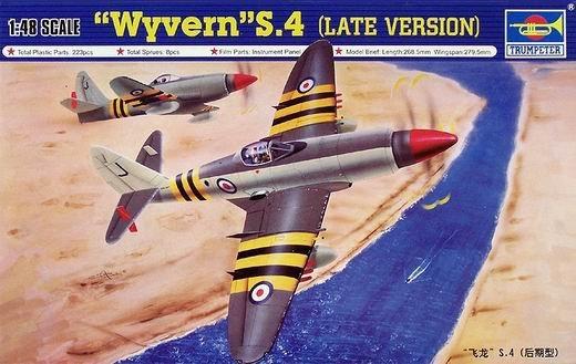 Trumpeter 02820 WESTLAND Wyvern S.4 (1:48)