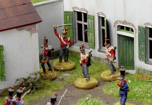 Italeri 6197 La Haye Sainte Waterloo 1815 - BATTLESET 1/72
