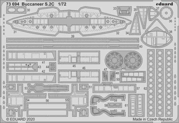 Eduard 73694 Buccaneer S.2C 1/72 AIRFIX