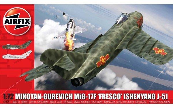 "Airfix 03091 Mikoyan-Gurevich MiG-17F ""Fresco"" 1/72"