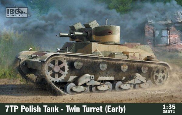 IBG 35071 7TP Polish Tank - Twin Turret (Early) 1/35
