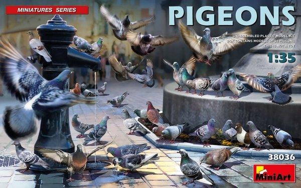 MiniArt 38036 Pigeons 1/35