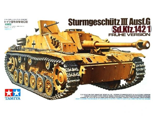 Tamiya 35197 German Sturmgeschtz III Ausf.G Early Version (1:35)