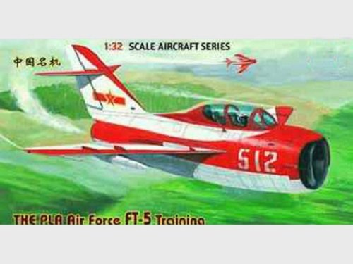 Trumpeter 02203 THE PLA Air Force FT-5 Training (1:32)