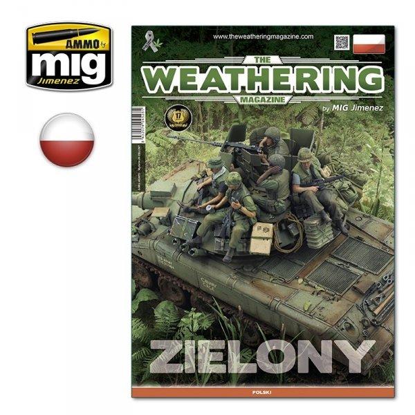 AMMO of Mig Jimenez 4528PL The Weathering Magazine Issue 29: Zielony (Polski)