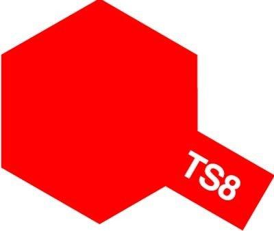 Tamiya TS8 Italian Red (85008)