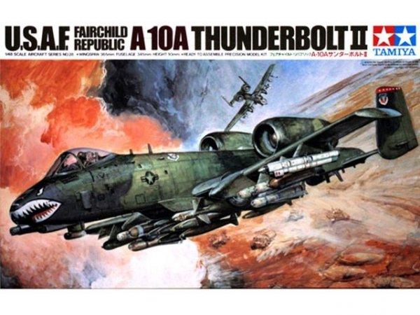 """Tamiya 61028 Fairchild Republic A-10A """"Thunderbolt II"""" (1:48)"""