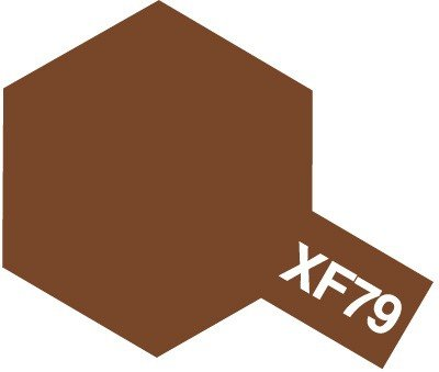Tamiya XF79 Linoleum Deck Brown (81779) Acrylic paint 10ml