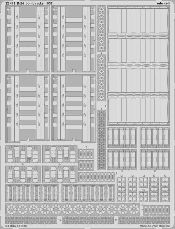 Eduard BIG33103 B-24 PART II 1/32 HOBBY BOSS