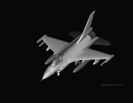 Hobby Boss 80272 F-16A Fighting Falcon (1:72)