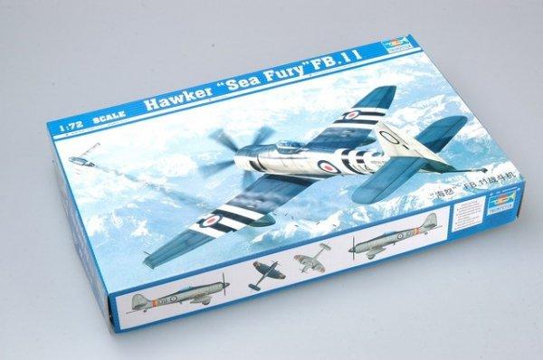 Trumpeter 01631 Hawker Sea Fury FB.11 (1:72)