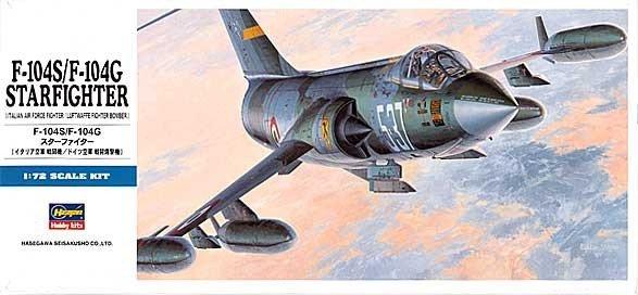 Hasegawa D17 F-104G/F-104S /Italian,Luftwaffe/ (1:72)