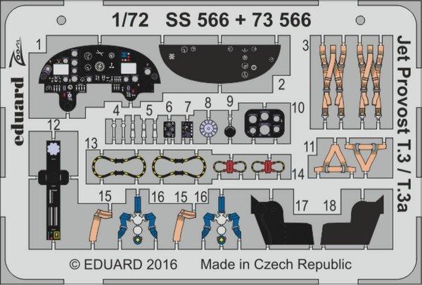 Eduard SS566 Jet Provost T.3 / T.3a AIRFIX 1/72
