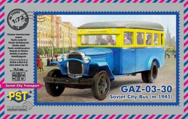 PST 72083 Soviet City Bus GAZ-03-30 (m.1945) 1/72