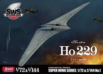 Zoukei-Mura SWS7201 Ho 229 Horten 1/72 & 1/144