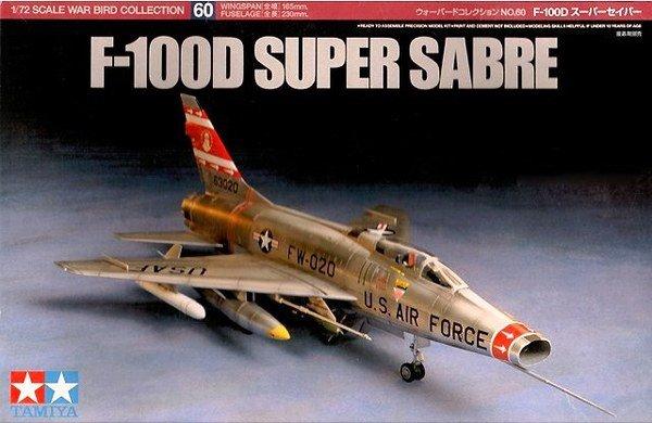 Tamiya 60760 F-100D Super Sabre (1:72)