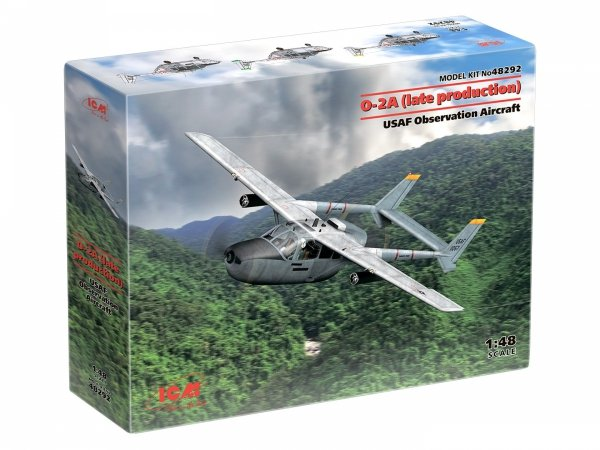 ICM 48292 O-2A (late production) USAF Observation Aircraft 1/48