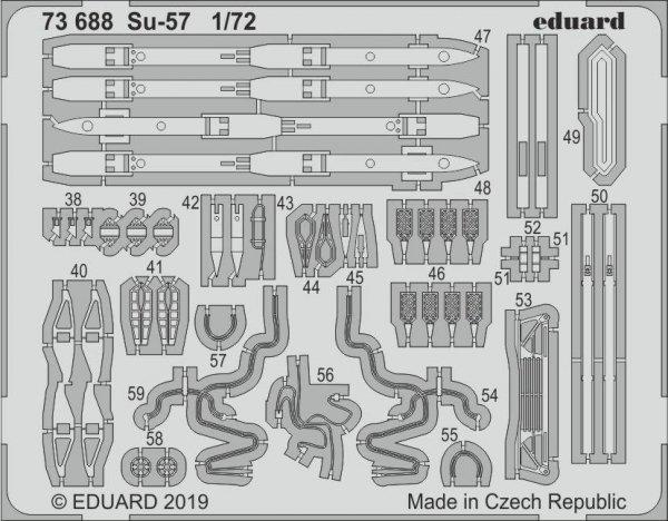 Eduard 73688 Su-57 1/72 ZVEZDA