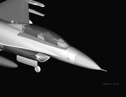 Hobby Boss 80273 F-16B Fighting Falcon (1:72)