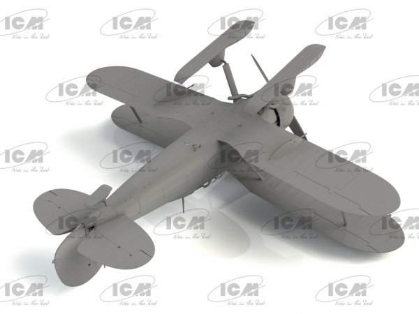 ICM 32044 J-8 Gladiator WWII Swedish Fighter 1/32