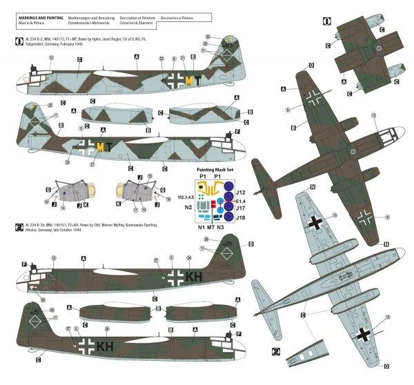 Hobby 2000 48009 Arado 234 B-2 First Jets 1/48