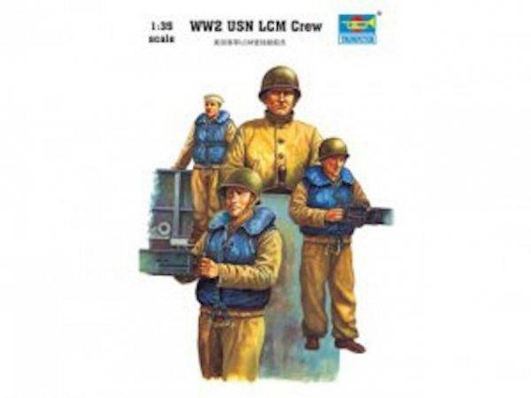 Trumpeter 00408 WW2 USN LCM crew (1:35)