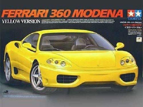 Tamiya 24242 Ferrari 360 Modena Yellow Version (1:24)