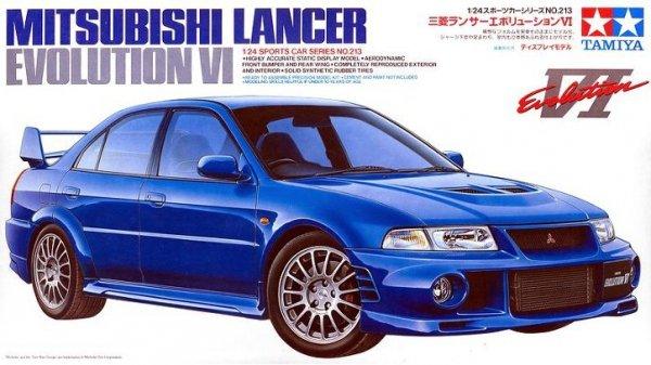 Tamiya 24213 Mitsubishi Lancer Evolution VI (1:24)