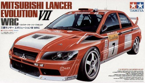 Tamiya 24257 Mitsubishi Lancer Evolution VII WRC (1:24)
