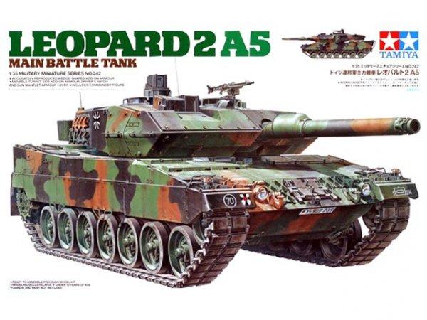 Tamiya 35242 Leopard 2 A5 Main Battle Tank (1:35)