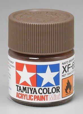 Tamiya XF68 NATO Brown (81768) Acrylic paint 10ml