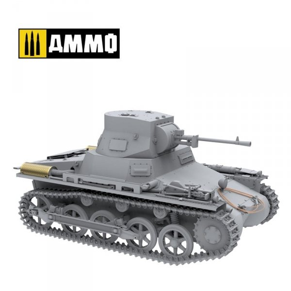 Ammo of Mig 8503 Panzer I Ausf. A Breda Spanish Civil War light tank destroyer 1/16