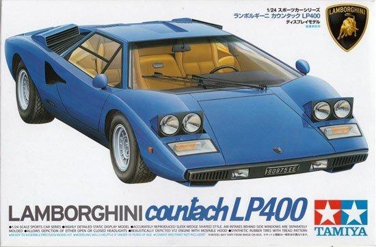 Tamiya 24305 Lamborghini Countach LP400 (1:24)