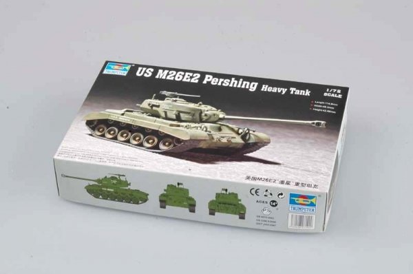 Trumpeter 07299 US M26E2 Pershing Heavy Tank (1:72)